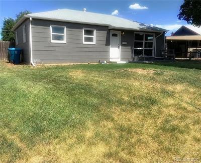 Aurora Single Family Home Under Contract: 896 Oswego Street