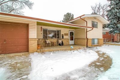 Arvada Single Family Home Under Contract: 6523 Iris Street