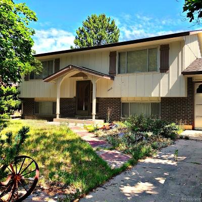 Aurora CO Single Family Home Under Contract: $228,000