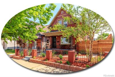Denver Single Family Home Active: 3632 North Marion Street