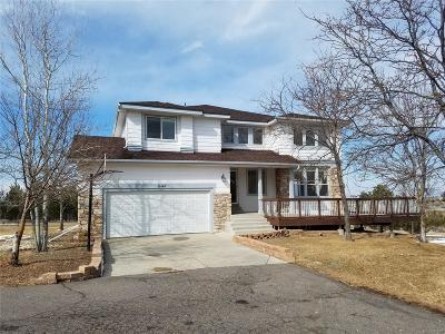Parker Single Family Home Under Contract: 13060 Travois Trail
