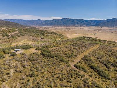 Steamboat Springs Residential Lots & Land Active: 29405 Big Valley Drive