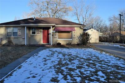 Arvada Single Family Home Active: 5480 Dover Court