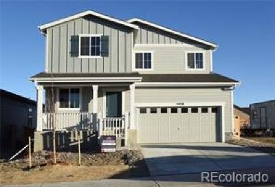 Castle Rock Single Family Home Under Contract: 3438 Swabuck Place