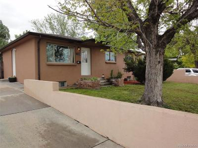 Westminster Single Family Home Active: 8522 Wagner Drive
