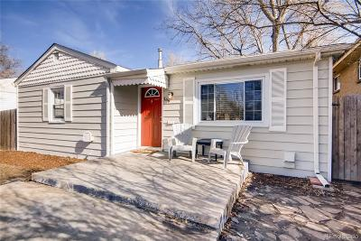 Denver Single Family Home Under Contract: 166 South Osceola Street