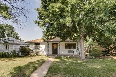 Denver Single Family Home Active: 2610 South Gaylord Street