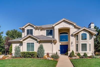Aurora Single Family Home Active: 6017 South Andes Circle