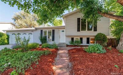 Broomfield Single Family Home Under Contract: 3331 West 10th Avenue Place