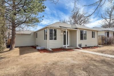 Denver Single Family Home Active: 2604 South Gaylord Street