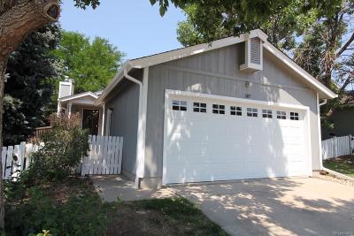 Northridge Single Family Home Active: 587 Longfellow Lane