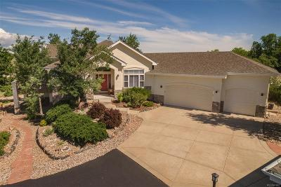Castle Rock Single Family Home Active: 3588 Bell Mountain Drive