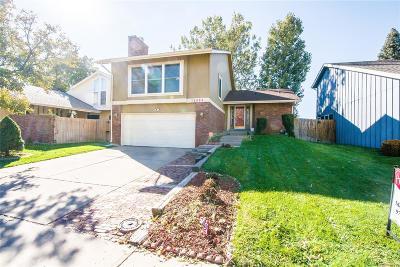 Aurora Single Family Home Active: 12624 East Bates Circle