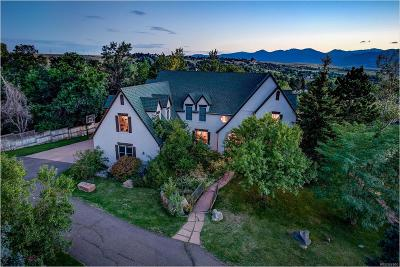Boulder Single Family Home Active: 7831 Spring Drive