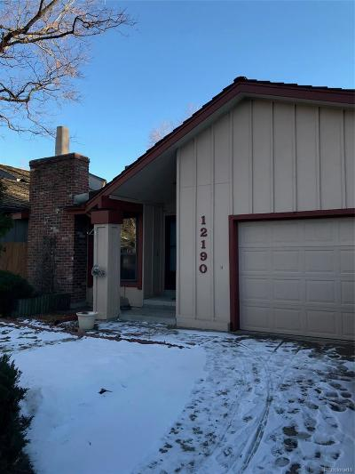 Aurora Single Family Home Active: 12190 East Amherst Circle