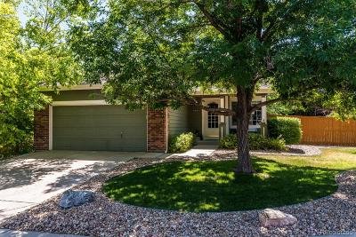 Littleton Single Family Home Under Contract: 8892 Pochard Street