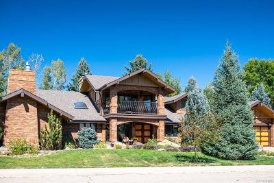 Boulder Single Family Home Active: 7181 Four Rivers Road