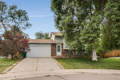 Littleton Single Family Home Active: 9135 West Monticello Place