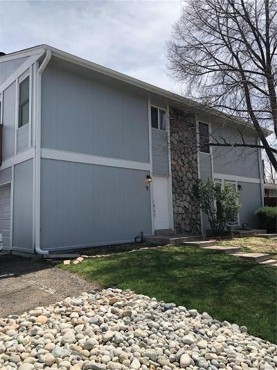 Aurora Condo/Townhouse Under Contract: 10001 East Evans Avenue #84D