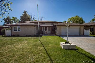 Greeley Single Family Home Active: 2161 Buena Vista Drive