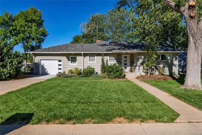 Englewood Single Family Home Under Contract: 4955 South Galapago Street