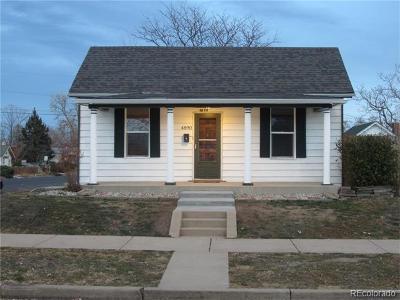 Denver CO Single Family Home Active: $370,000