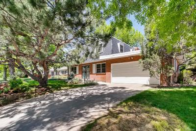 Denver Single Family Home Active: 2301 South Krameria Street