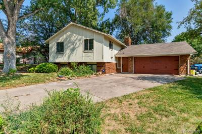Littleton Single Family Home Active: 3609 West Arrowhead Road