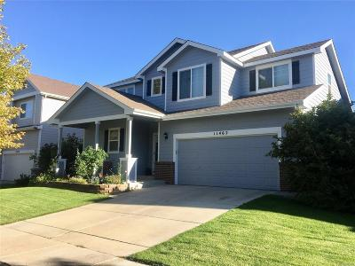 Henderson Single Family Home Under Contract: 11462 East 118th Place