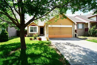 Northglenn Single Family Home Active: 11611 Galapago Court
