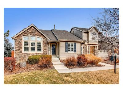 Castle Pines Condo/Townhouse Sold: 7407 Norfolk Place