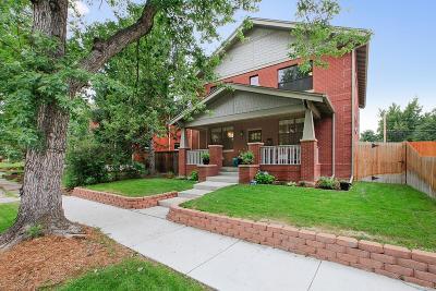 Denver Single Family Home Active: 3715 Quitman Street
