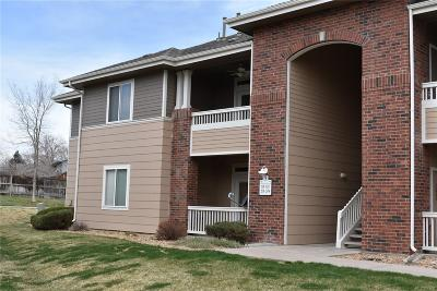 Littleton Condo/Townhouse Under Contract: 8481 West Union Avenue #5-201