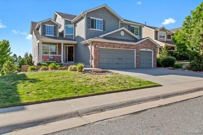 Castle Pines Single Family Home Under Contract: 8387 Briar Trace Way