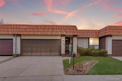 Aurora, Denver Single Family Home Active: 1474 South Salem Way