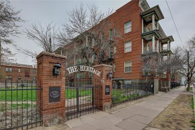 Alamo Placita, Capital Hill, Capitol Hill, Governor's Park, Governors Park Condo/Townhouse Active: 1356 Pearl Street #309