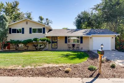 Wheat Ridge Single Family Home Active: 3582 Wright Street