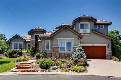 Castle Pines CO Single Family Home Active: $1,089,000