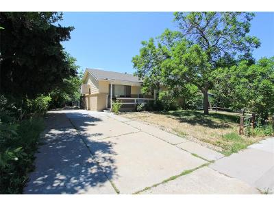 Westminster Single Family Home Under Contract: 9301 Irving Street
