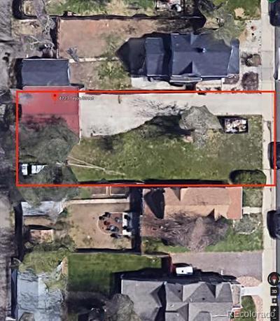 Denver Residential Lots & Land Active: 4723 Tejon Street