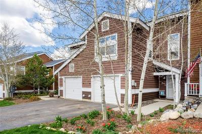 Steamboat Springs Condo/Townhouse Active: 509 Mountain Vista Circle #11
