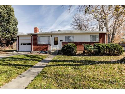 Arvada Single Family Home Active: 6656 Newcombe Street