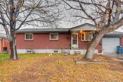 Brighton Single Family Home Under Contract: 882 South 6th Avenue