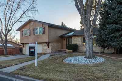 Littleton Single Family Home Active: 6597 South Hill Street
