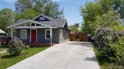 Denver Single Family Home Active: 120 Perry Street