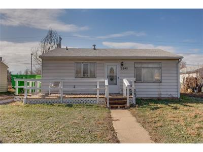 Arvada Single Family Home Under Contract: 5245 Ingalls Street