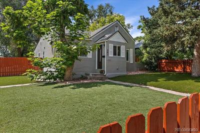 Denver Single Family Home Active: 261 Quitman Street