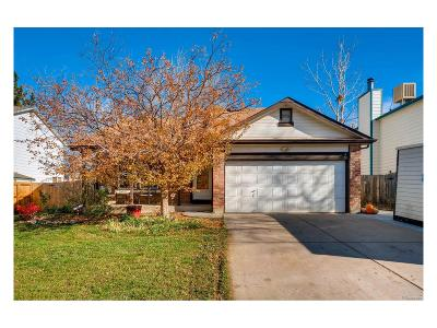 Littleton Single Family Home Active: 6010 South Quail Way