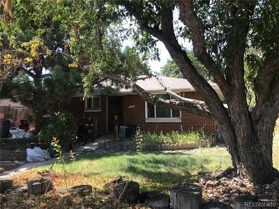 Englewood Single Family Home Under Contract: 3763 South Federal Boulevard