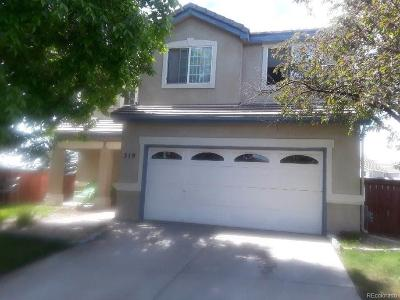 Aurora Single Family Home Active: 319 Ivory Circle